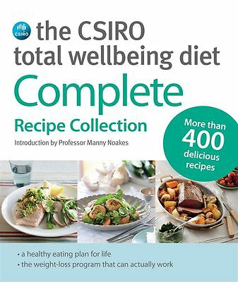 Csiro Total Wellbeing Diet The by Manny Noakes - Paperback - NEW - Book