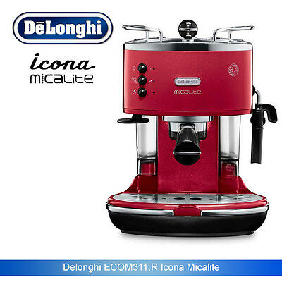 DeLonghi ECOM311.R Icona MicaLite Pump Espresso Coffee Machine red