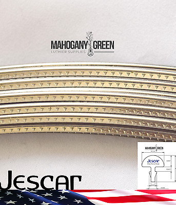 Jescar Stainless Steel Jumbo Guitar & Bass Fret Wire 6 feet Top Quality 57110