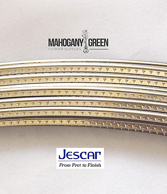Jescar Stainless Steel Wide - Medium Frets/ Guitar Fret wire 6 feet 47104