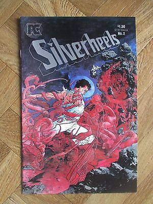 Silverheels #2  Very Fine (W6)
