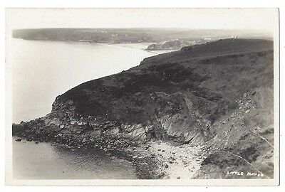 LITTLE HAVEN Coastal View, RP Postcard by Squibbs Unused