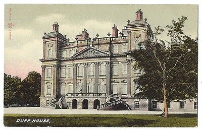 DUFF HOUSE Banff, Reliable Series Postcard, Unused