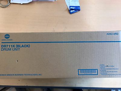 Konica Minolta Dr711K  Black Imaging Unit Bizub C654 C754 New Genuine Vat Inc