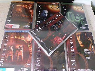 "Dvd Bulk Lot ""millennium""   Seasons 1, 2 & 3  All Watched Only Once"