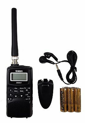 New Uniden Ezi-33Xlt Handheld Scanner Receiver Airband Vhf Uhf Fm With Batteries