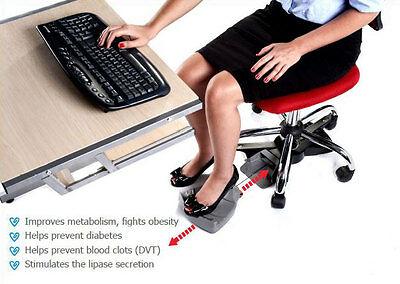 Chair Exerciser for your office chair. Sitting is the new smoking keep healthy