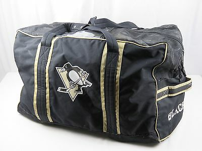 Mesh JRZ Pittsburgh Penguins NHL Pro Stock Hockey Team Gear Equipment Bag Travel
