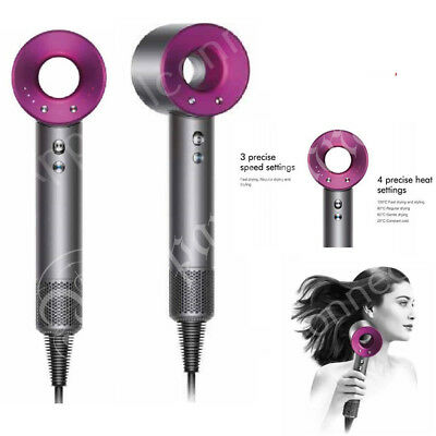 Brand New Dyson Supersonic Hair Dryer Fuscia With 2 Year Warranty BNIB