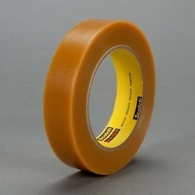 "3M Electroplating/Anodizing Tape 484 Tan, 1""x 36 yd. 7.2 mil"