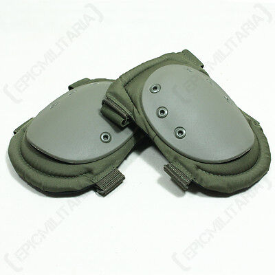 AIRSOFT PAINTBALL Hard Cap KNEEPADS Protective Army Knee Pads - Colour Option
