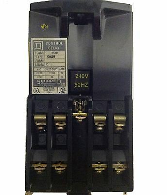 AC Electricaly Held 300V Modular Relay GO-80 - 240 Volt Coil