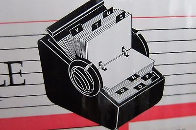 Vintage New in Box Rolodex by Bates 500 Closed Rotary File Bus. Card 2 1/4 x 4