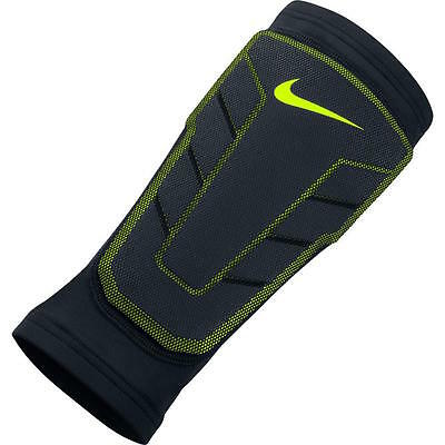 NIKE Pro Combat Hyperstrong Series Compression Shin Sleeve sz L Large Black NEW