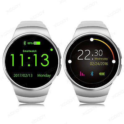 Bluetooth KW18 Reloj Inteligente Smartwatch GSM SIM para Android IOS iPhone HTC
