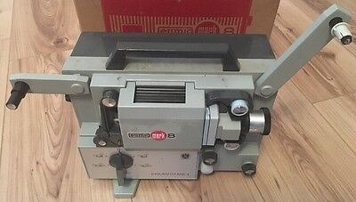 Eumig Mark-8 Super 8mm Movie Film Projector, Boxed, Working but Needs Attention