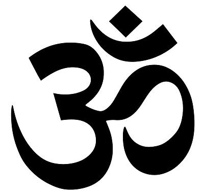 AUM OM SYMBOL decal sticker for wall, car, laptop, etc - $1 99