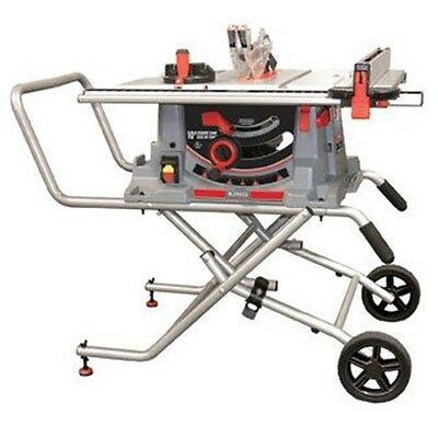 King Industrial KC-5100C 10-Inch Jobsite Saw with Folding Stand