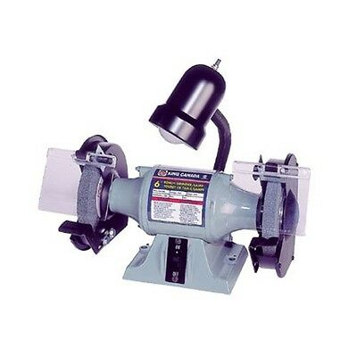 King Canada KC-690L Bench Grinder with Lamp-Slim Line Series, 6-Inch