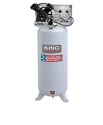 King Canada KC-6160V1 6.5 Peak HP 60 Gallon Stationary Air Compressor, 150 Psi