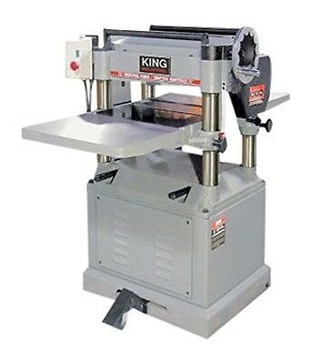 King Canada KC-390FX 15-Inch Planer with Spiral Cutterhead