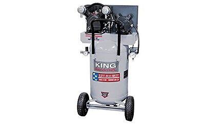 King Canada KC-3124V1 5.5 Peak HP 24 Gallon Air Compressor