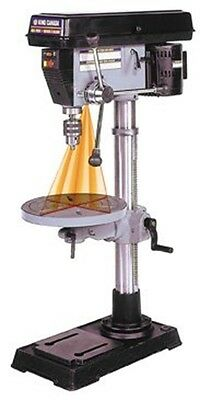 """King Canada KC-116C 16 Speed 13"""" Bench Drill Press with Dual Laser Guide System"""