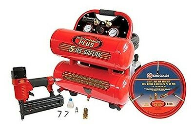 King Canada 8488C/8200NH25 2.5 HP Air Compressor Combo Kit