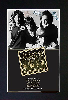 THE DOORS -  MEMORABILIA - Collectors Signed Photo + FREE SHIPPING