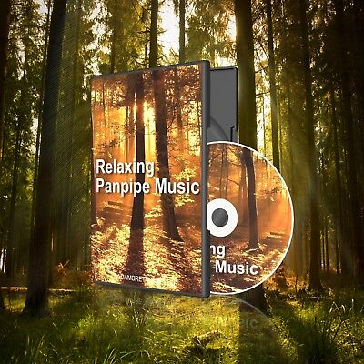 Panpipe Music CD - Relaxation Stress Sleep Aid Nature Natural Sounds Panpipes