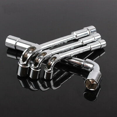 L Shaped Hex Socket Wrench Nut Driver 8-19mm Dual Ends 12 Size Option