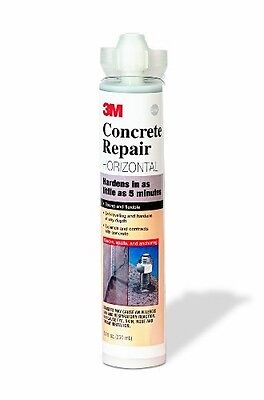 3M (DP-600-Self-Level-8.4oz) Concrete Repair Self-Leveling Gray, 8.4 fl oz Cartr