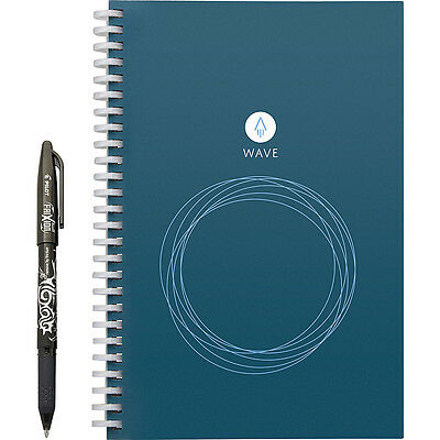 Rocketbook Wave Notebook (Executive Size) - Blue Business Accessorie NEW