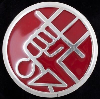 Rare Hellboy Promo HB Universal Studios Cosplay Comic Comic-Con BPRD Belt Buckle