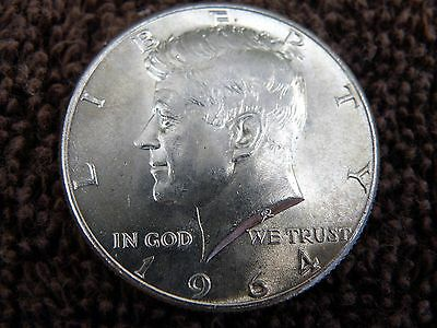 1964 Kennedy 90% Silver Half Dollar Uncirculated