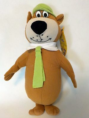 "Yogi Bear Stuffed Plush Toy Factory 14"" Hanna Barbera Cartoon Pal"