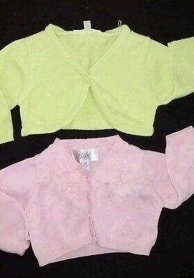 BEBE by Minihaha Size 00 Girls Cardigan & kitchoun Cardigan excellent condition