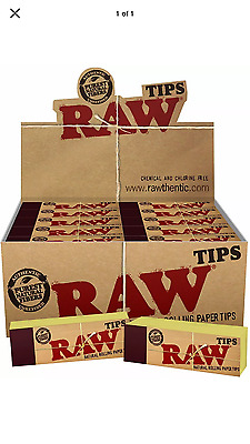 RAW Rolling Paper Roach Filter Tips Chlorine Free Filter tips / Roach Book Books