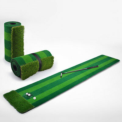 New Golf Putting Green Golf Training Aid Mat Indoor Washable Golfing Accessories