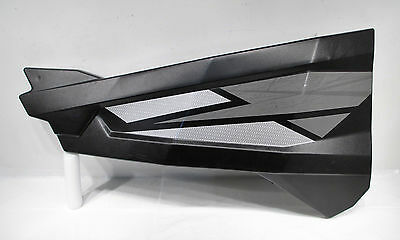 14-17 Polaris ACE RZR 570 900 1000 4 XP Turbo OEM LH Front Door Skin Black Pearl