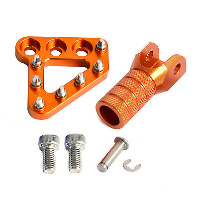 Brake Pedal Step Plate Shifter Lever Tip for KTM 990 ADVENTURE ADVENTURES Orange