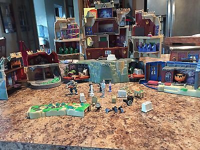 Harry Potter Hogwarts Castle Lot Movement and Sound