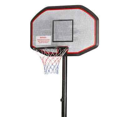 Basketball System Portable Ring Hoop Backboard Stand Adjustable Height Sturdy