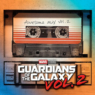 Guardians of The Galaxy Awesome Mix Vol.2 CD OST Soundtrack NEW & SEALED