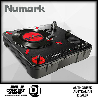 Numark PT01 Scratch Portable Turntable w/ Scratch Switch, USB Out & Speaker