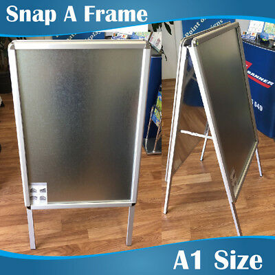 A1 Double Sided Poster Snap Frame A Frame A Board A Frames Snap Sign Holders