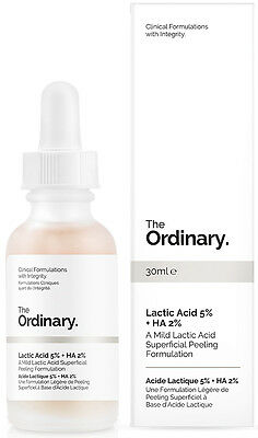 NEW The Ordinary Lactic Acid 5% + HA 2% 30ml