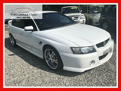 2004 Holden Commodore VZ SS White Automatic 4sp A Sedan