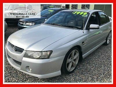 2005 Holden Commodore VZ SS Silver Automatic 4sp A Sedan