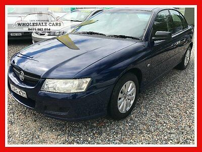 2006 Holden Commodore VZ Executive Blue Automatic 4sp A Sedan